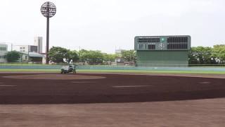 甲子園球場と同じ土で試合を…球児らを応援 青森